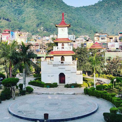ghantaghar, Mandi Himachal Mandi Himachal Himachalpradesh Travel Himachal Himachaltourism GhantaGhar Tree Sky