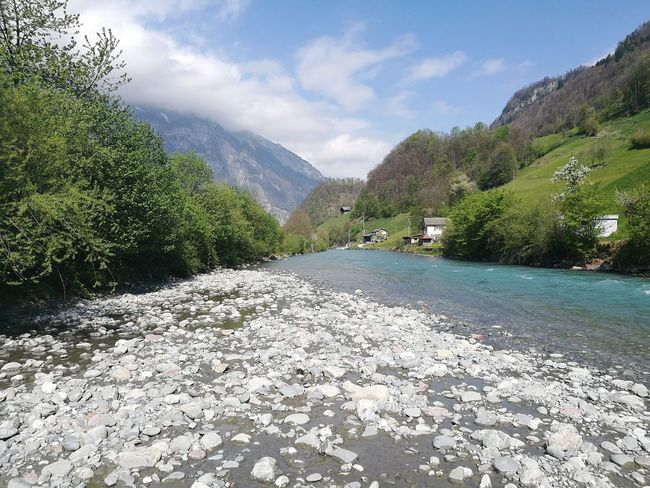 Water Glarus Linth Fluss