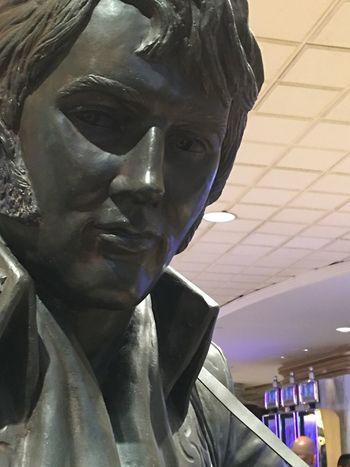 Vegas Baby Vegas  SeattleGamble Elvis Presley Statue l Love ♥ Elvis❤ Star The King