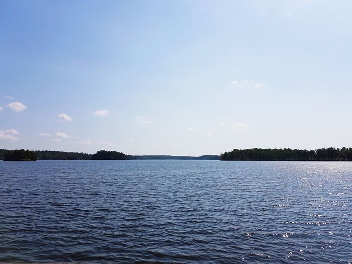 Good For The Soul Stillness Peaceful Water Bird Sky Cloud - Sky Landscape Calm