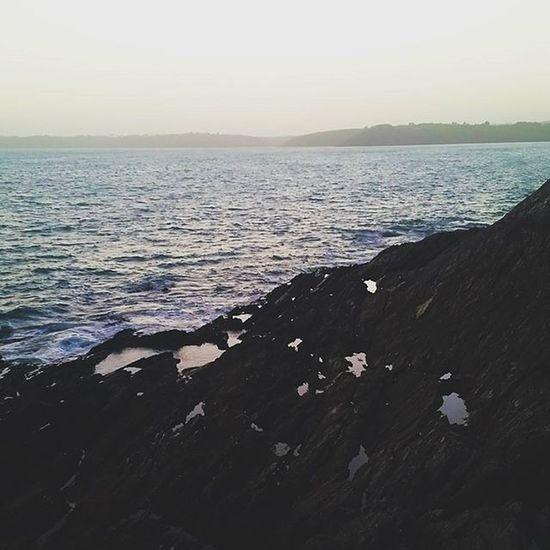 When rock pools look like mirrors 🌊 Cornwall Pixelpanda Cliff Sea Ocean Nature Naturelovers Misty Ig_naturelovers Ig_nature Rockpool Water Mirrors
