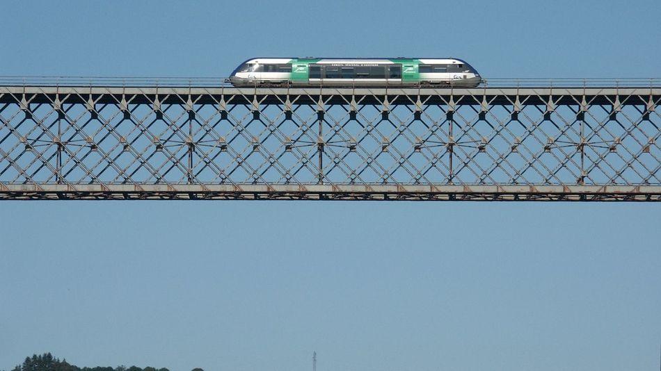 Bridge Brücke Eisenbahnbrüc Höchste Eisenbanbrücke In Frankreich Pont Railway Bridge Sncf Stillgelegt Ter Viaduc Des Fades