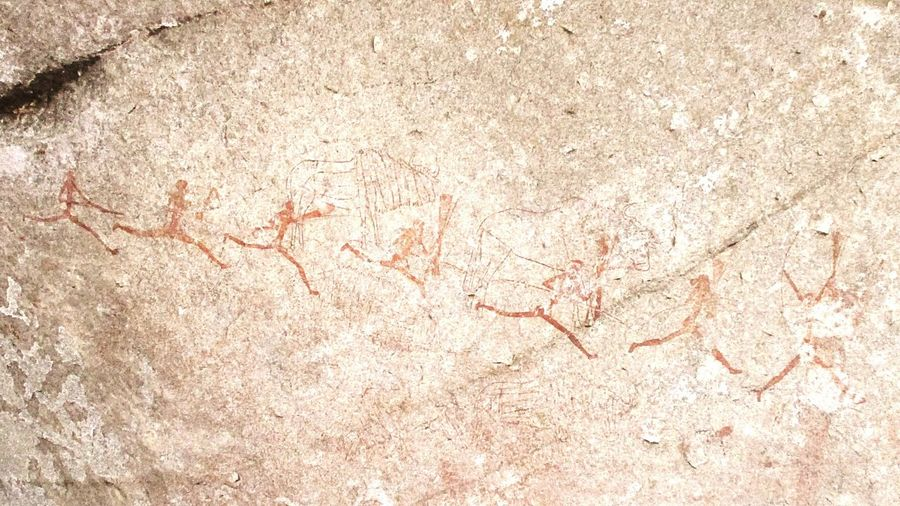 Cave Painting Cave Paintings MatopoHills Matopos Zimbabwe Stone Painting Cave People