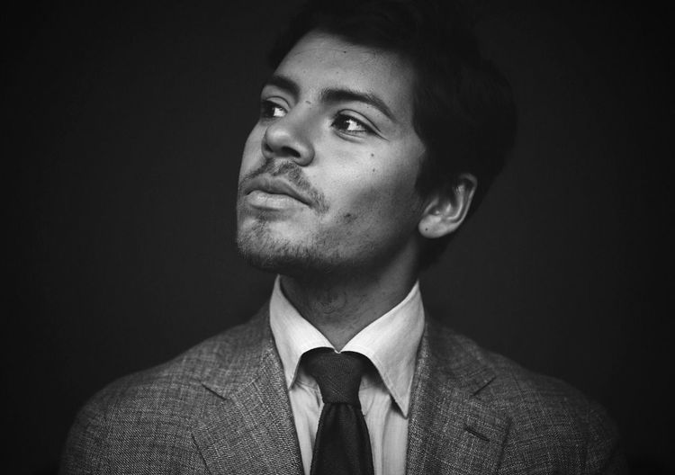 Portrait 👔 Suit Studio Shot Businessman One Person Necktie Well-dressed Business Real People Indoors  Men Portrait Young Adult Close-up Day People Menswear Career Suitandtie Sartorial Blackandwhite Blackandwhite Photography Lookingup Portraits