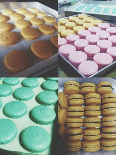 back in action! Frenchmacaron Macaron Qifeemacs
