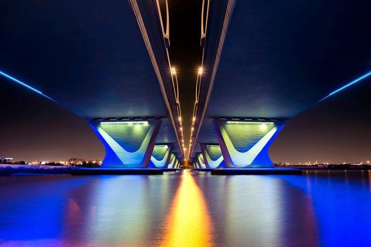 Symmetrical Dubai UAE Sems Photography