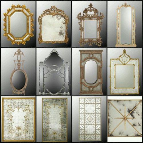 Interior Design Mirror Smoky Mirror