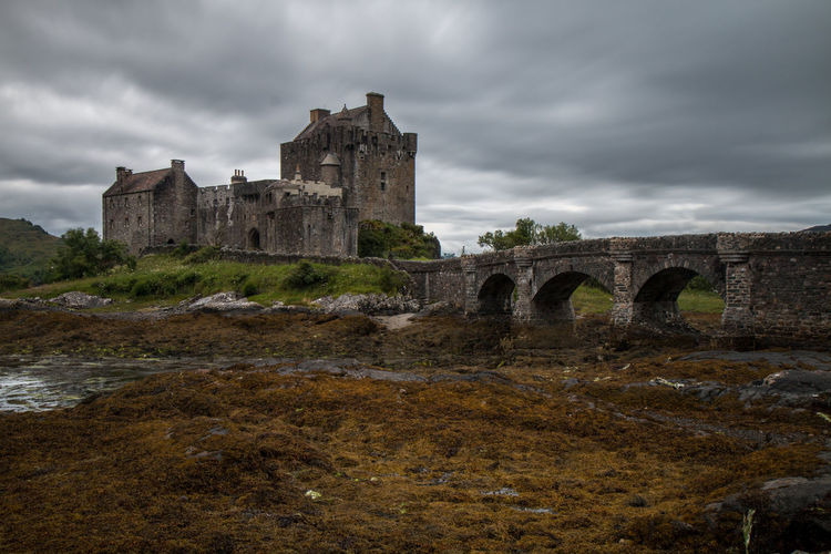 Castle Long Exposure Shot Moody Sky Nature Scotland Skye Culture Eilean Donan Castle Highlands History Lake Lee Filters Long Exposure Mood Moody Tides Time