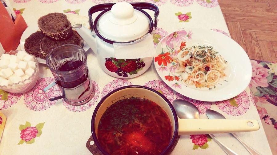 Russian cuisine Borsh Healthy Eating