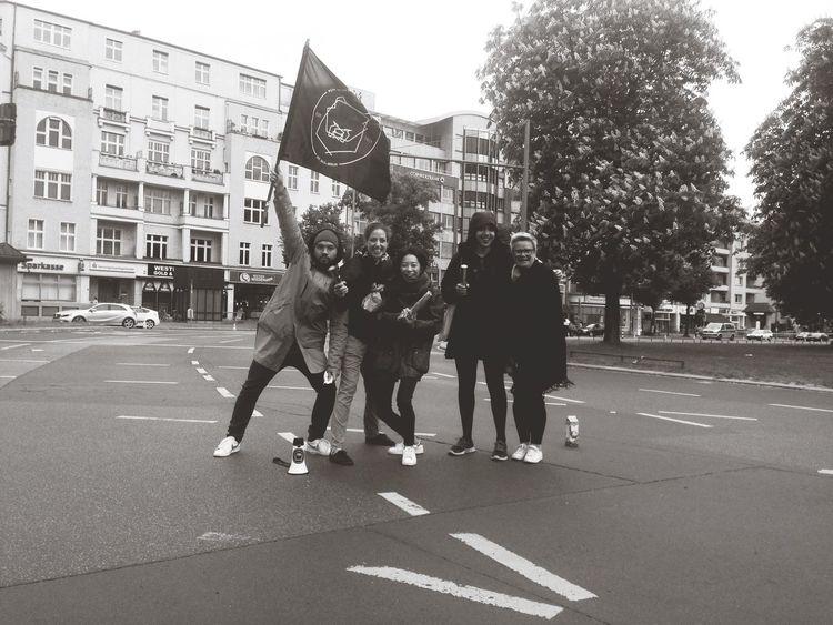 RUN PACK cheering at Big25 Berlin Running