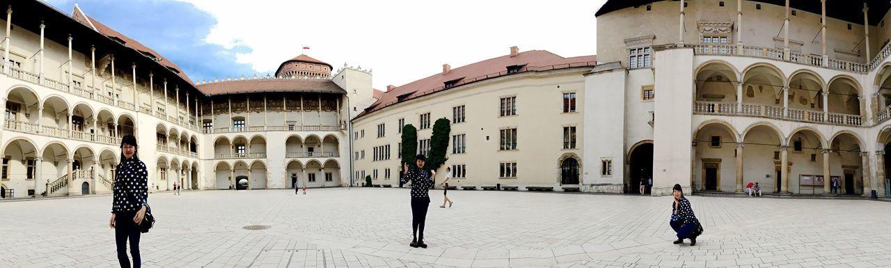 Panorama Panorama Shot. Panoramas Taken By Iphone 6 Plus Wawel Castle