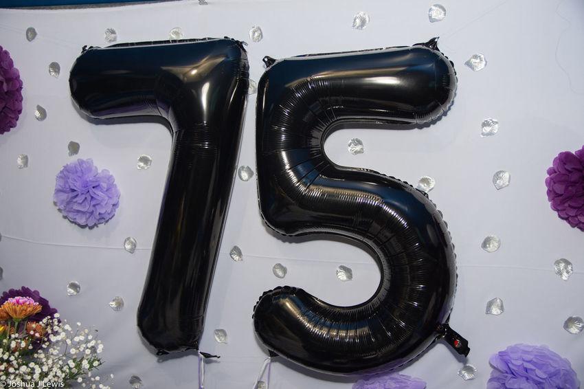 Blowups Birthdayparty 75th Caribbean Trinidad And Tobago Stillife