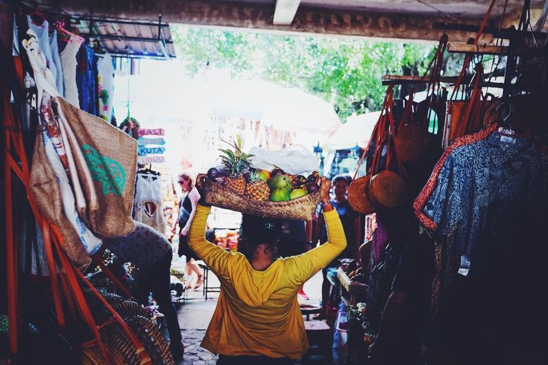 Streetphotography Ubud Market Real People Fruits Vacations Holiday Colors Travel Photography Bali, Indonesia Bali Baliphotography Real People Lifestyles Communication Adult People Women Photography Themes Photographing Market Stall Day Outdoors For Sale