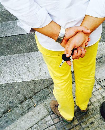 Nichts Ist Gelber Als Gelb Selber Waiting Keys Zebrastreifen