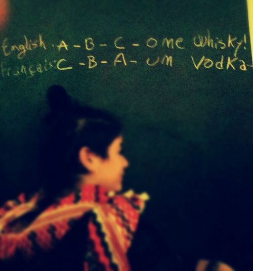 Alchohol Speaks In Many Languages