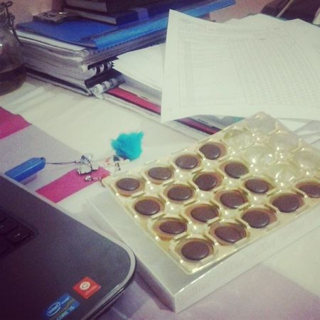 Eating chocolat is my joy ... Chocolat Pation Toffifee Love instagood instamoment