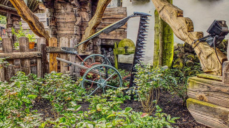 Agricultural Equipment Beauty In Nature Green Color Growth Hdrphotography Landscapephotography Landwirtschaftsgerät Nature Nature No People Outdoors Plant Streetphotography