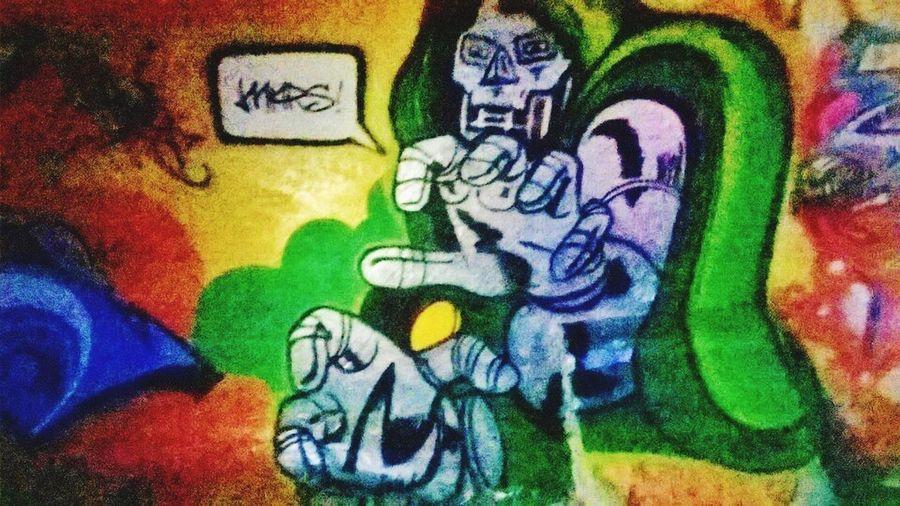 Mars art. . .Dr. Doom. . . (Abandoned Miami Marine Stadium Key Biscayne, FL)