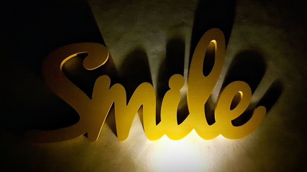 smile Communication Close-up Gold Colored No People Yellow Indoors  Day