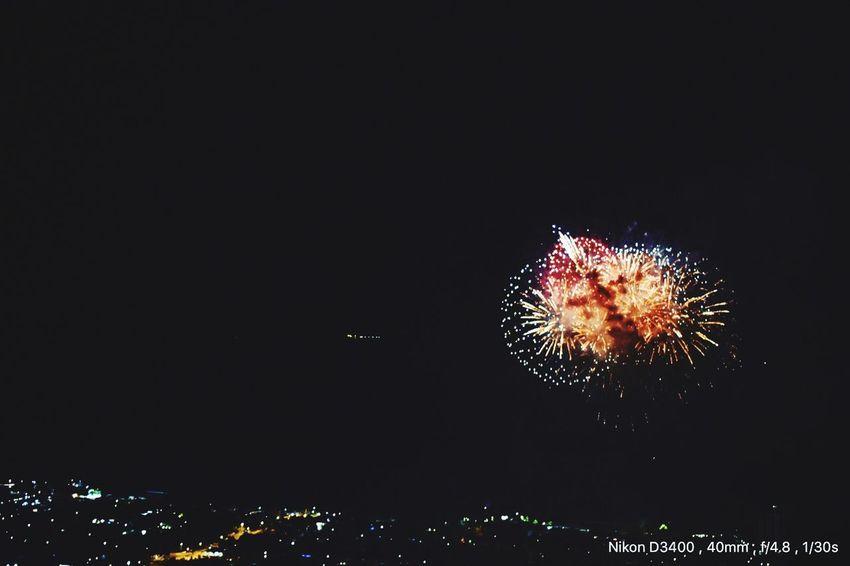 New Year's Eve Fireworks Firework - Man Made Object Night Celebration Sky Firework Display Exploding Firework Illuminated Motion Black Background Outdoors No People First Eyeem Photo