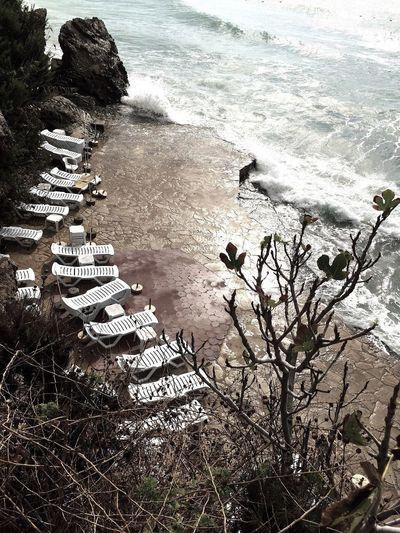 Avsallar Beach Herbst Saisonende