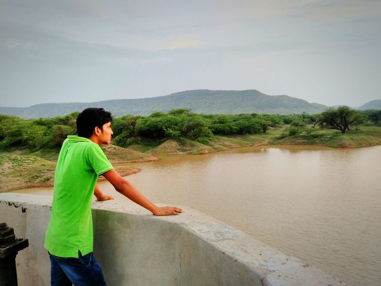 Feel The Journey Hill Water Landscape Dam Ranthambhoretrip Beauty In Nature Expression By Body Original Experiences Here Belongs To Me Greenery Colourful Incredible India Royal Rajasthan Yashansh_photography
