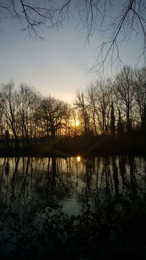 Sunset - River Taff, Cardiff Taking Photos Cardiff Sun Nokia1020