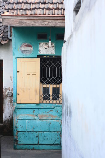 window Architecture Building Exterior Built Structure Day Doorway House No People Outdoors Village Window