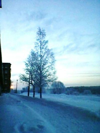 Зима в городе. First Eyeem Photo