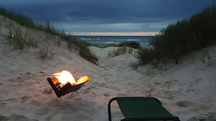 Beach Sand Heat