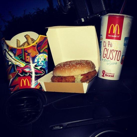 McDonald Mcdrive Italy Tuscany prato italy tuscanynightfooditalianfood