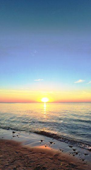 Summer Beach Denmark Ocean Tranquility Sunset_collection Nature EyeEm Nature Lover