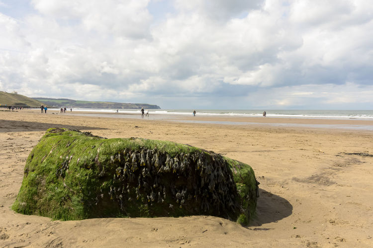 Coastline / beach in and around Yorkshire, UK. Beach Beachphotography Day Nature Outdoors Outdoors❤ Outside Sand Scarborough Sky Yorkshire