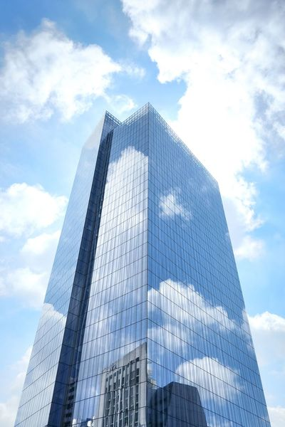 Modern Sky Cloud - Sky Skyscraper Low Angle View Architecture No People Day Building Exterior Outdoors City
