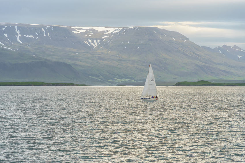 Adventure Day Iceland Idyllic Landscape Mountain Mountain Range Nature On The Way Adventure Club Ocean Outdoors Remote Reykjavik Rippled Sailing Scenics Sea Sky Tourism Tranquil Scene Tranquility Travel Destinations Water Waterfront