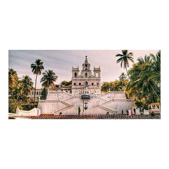 Baroque! ⛪ . . . . . . Goa Goadiaries Church Background Architecturephotography Architecture Igers India Vscocam VSCO Sony So Sonyalpha