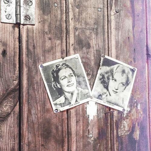 Moviestar Vintage Photo Fifties Wood Wall