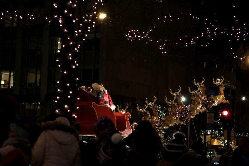 Santa at Light