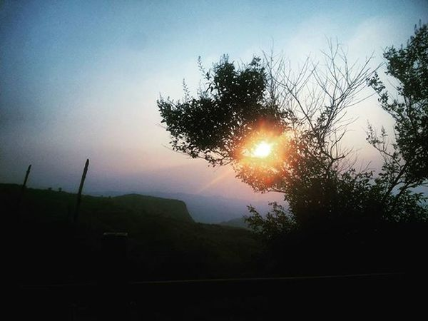 Sunrise at Raigad