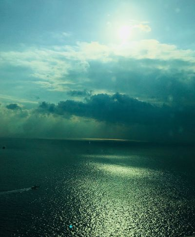 So beautifui sky... Beauty In Nature Cloud - Sky Landscape Nature Sea Sky Tranquil Scene Water