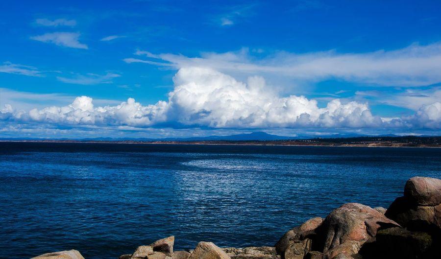 Beautiful Beautiful Nature Monterey Bay Ocean View Storm Clouds