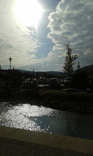 Bad Dürkheim Cloudscape Sunsilhouette Peaceful