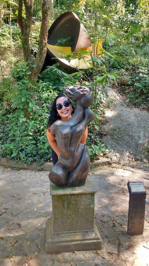 Estátua Diana CaçadoraOutdoors Sculpture Statue Nature Rio De Janeiro Mylove ❤️ Happiness Love Trilha Errejota  Fun