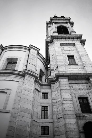 Christianity Church Church Architecture Church Tower Cathedral Catholic Church EyeEm Gallery EyeEm Best Shots EyeEm Selects Taking Pictures Taking Photos My Point Of View EyeEm Best Shots - Black + White Blackandwhite Old Town Black And White Black & White Switzerland Architectural Column Light And Shadow Solothurn St.ursen Monochrome Churchporn City History Architecture Building Exterior Built Structure