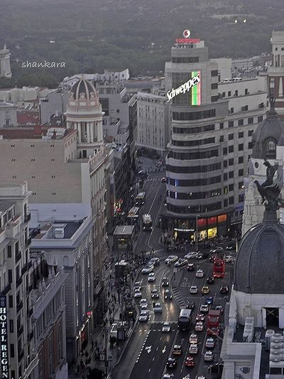 from Madrid to heaven... Madrid • Gran Via