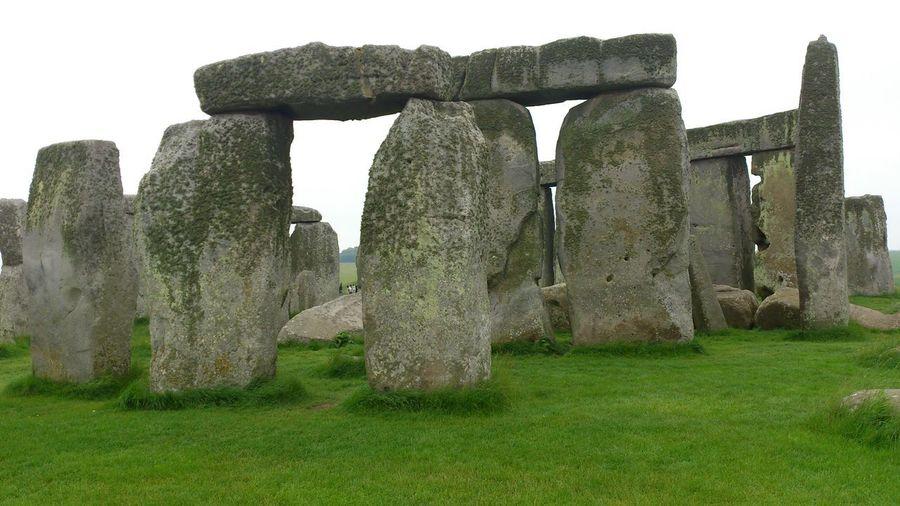 Stonehange England, UK Old Ruin Stone Acient Travel Destinations Nature Day Sky