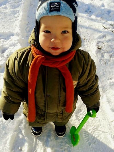 Child My Baby My Love ❤ Winter Snow ❄ Portrait
