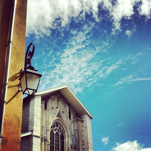 Chambery Cathedrale Histoire Bluesky france savoie street picoftheday