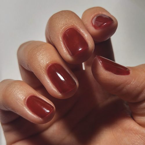 Nails Nail Polish Fingernail Human Body Part Shiny Beauty Human Hand Human Finger Manicure Beauty Product Indoors  Close-up Red