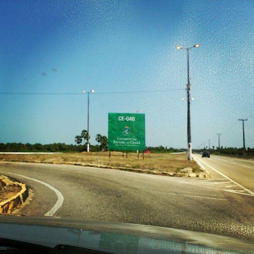 Na estrada...